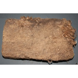 Soft peat brick